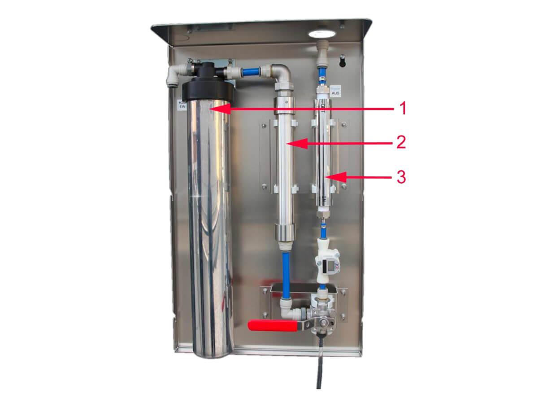 Wellwasser Anlage