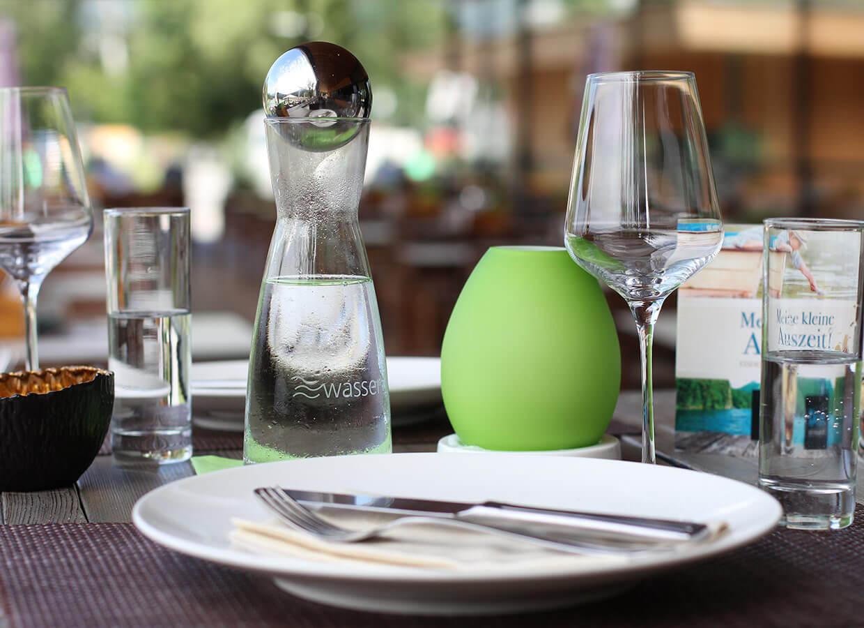 Wellwasser in der Gastronomie