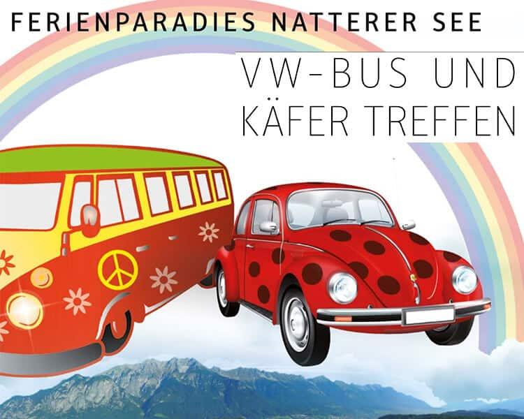 Wellwasser Natterer See VW-Bus und Käfertreffen